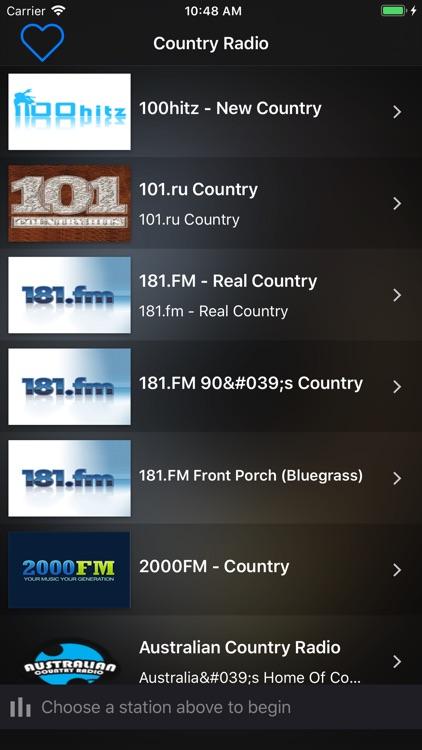 Country Radio Music Stations