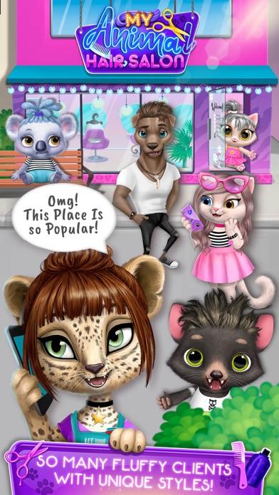 My Animal Hair Salon screenshot 1