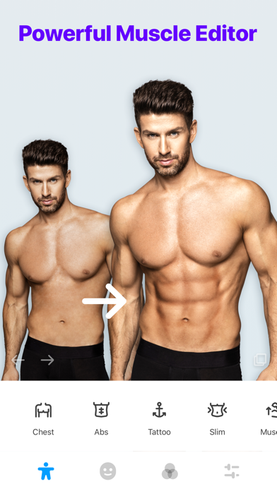ดาวน์โหลด Manly - Body Muscle Editor Pro สำหรับพีซี