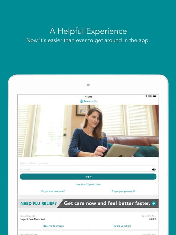 Carolinas HealthCare System screenshot
