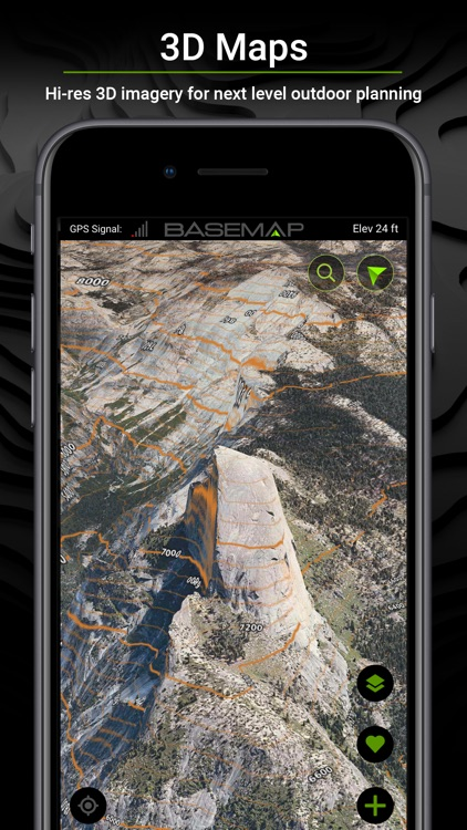 BaseMap: 3D Hunting GPS Maps screenshot-2