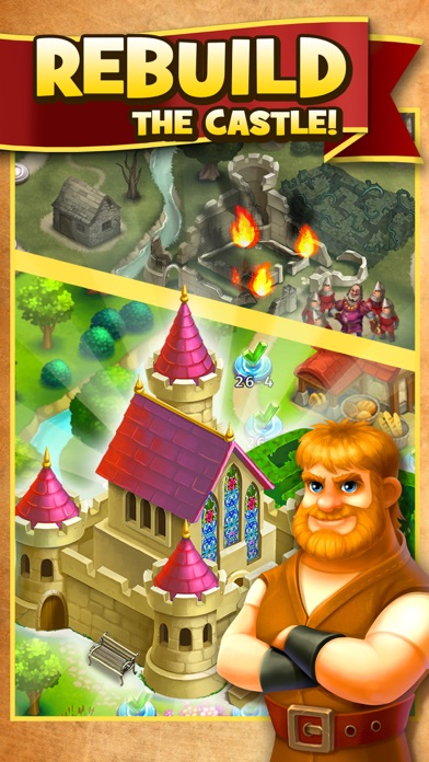 Robin Hood Legends - Merge 3 screenshot 4