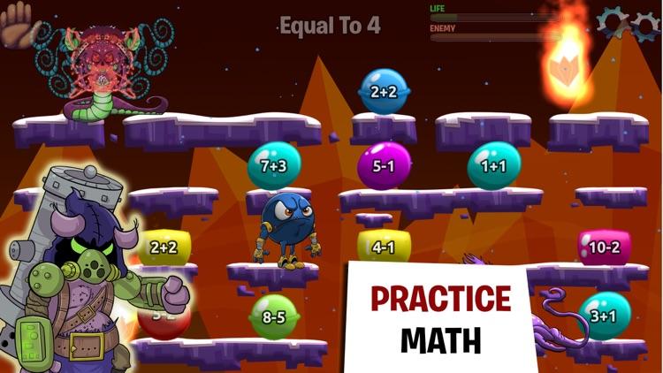 Monster Math - Games For Kids screenshot-0