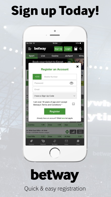 Betway: Sports Betting screenshot-5