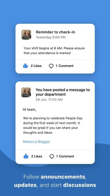 HR management - Zoho People screenshot-3