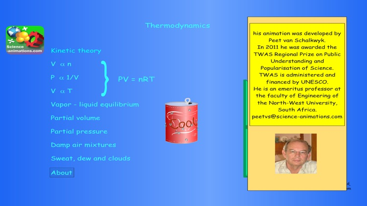 Thermodynamics Animation screenshot-0