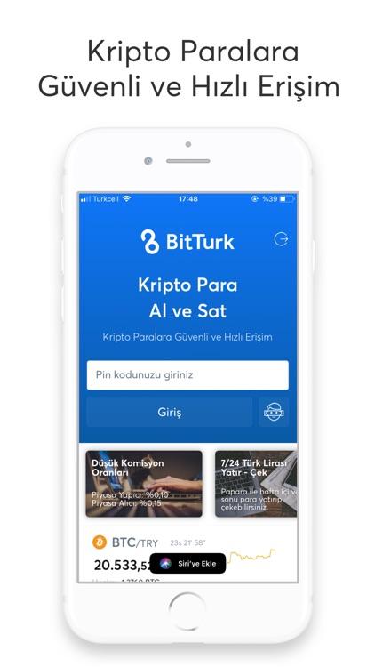BitTurk - Bitcoin Al Sat