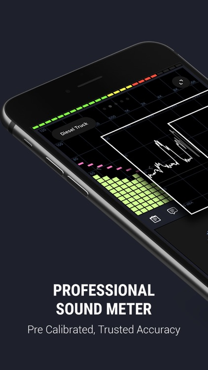 Decibel X PRO: dBA Noise Meter screenshot-0