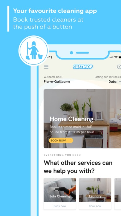 Justmop: Maid Cleaning Service