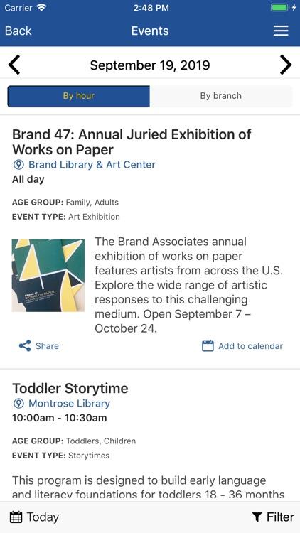 Glendale Library Arts GLAC screenshot-3