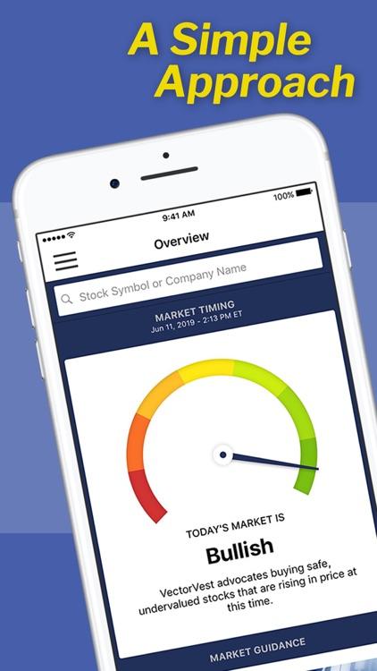 VectorVest Stock Advisory screenshot-0