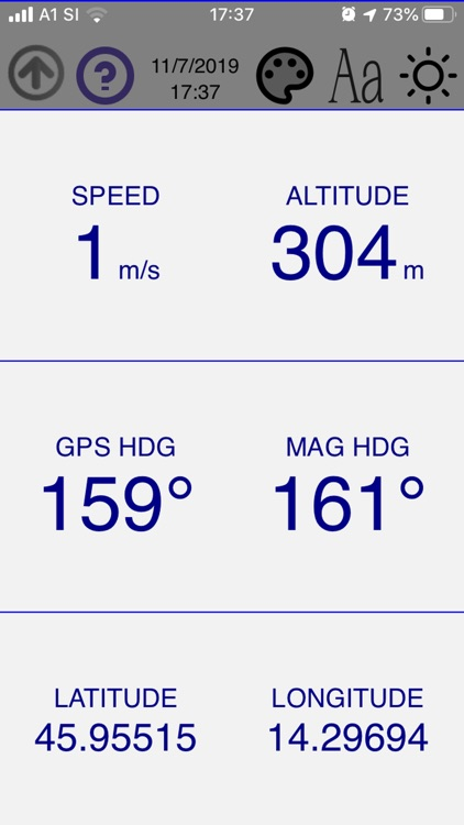 Simple GPS Dashboard