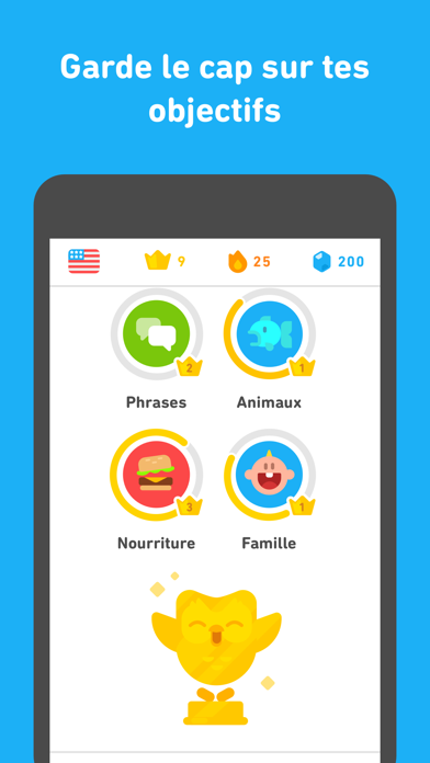 Screenshot for Duolingo in Lebanon App Store