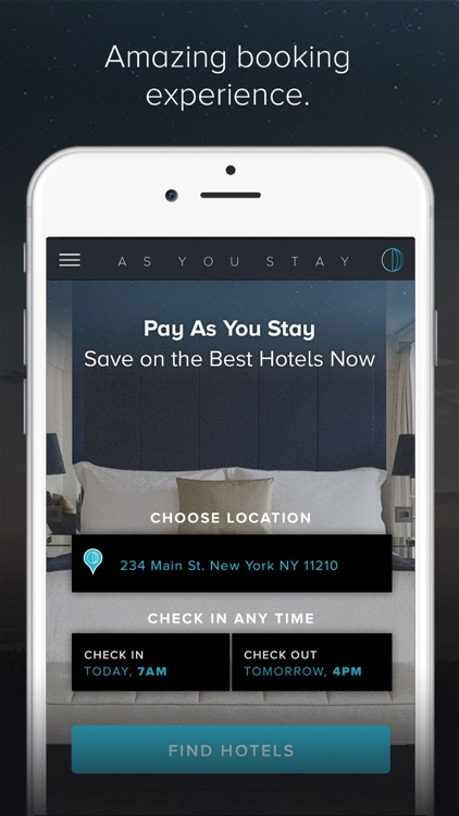 As You Stay - Anytime Checkin