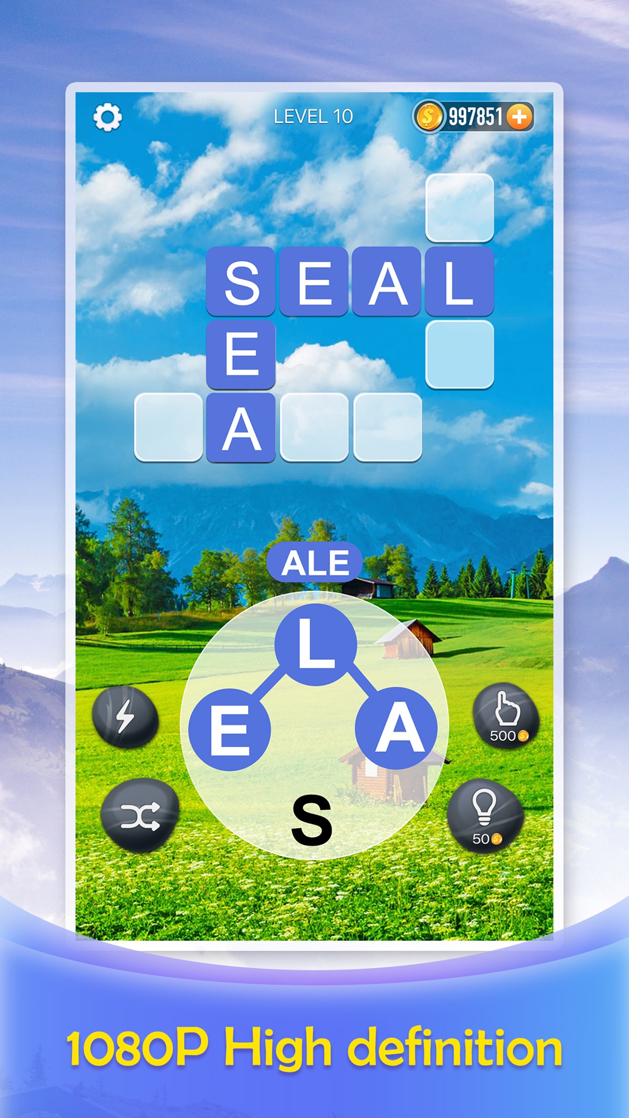 Word Crossy - A crossword game Screenshot