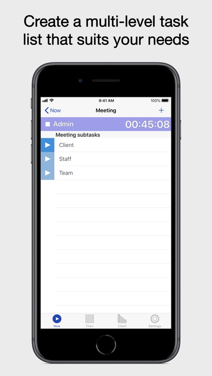 Now Then Time Tracking screenshot-3