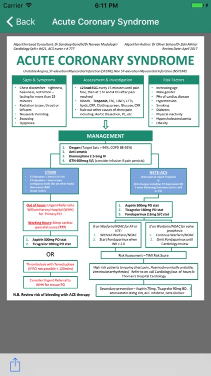 Green Book Clinical Guidelines
