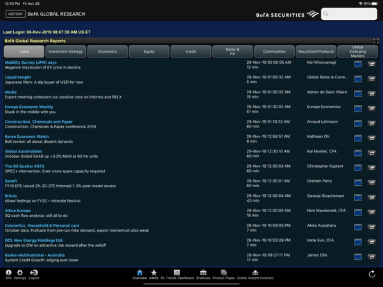 Research Library screenshot three