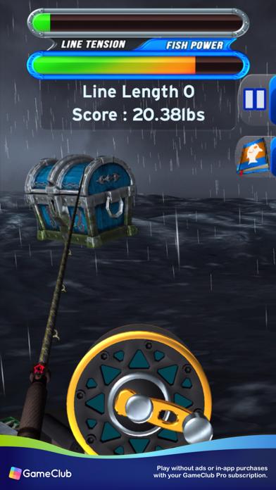 Flick Fishing: Catch Big Fish screenshot 5