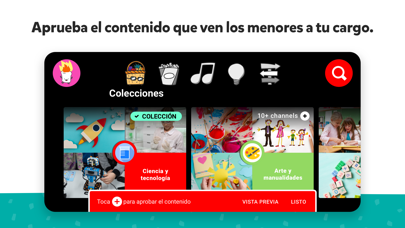 Screenshot for YouTube Kids in Argentina App Store