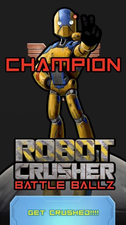Robot Crusher Battle Ballz screenshot-8