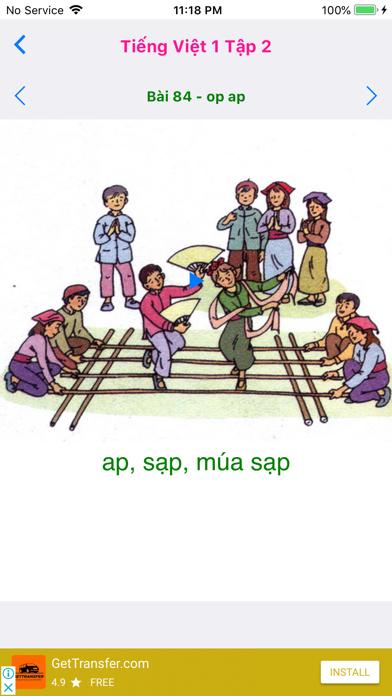Tieng Viet 1 - Tap 2 screenshot 2