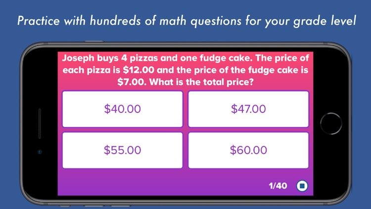 5th Grade Math Testing Prep screenshot-0