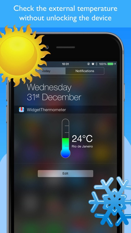 Widget Thermometer Simple