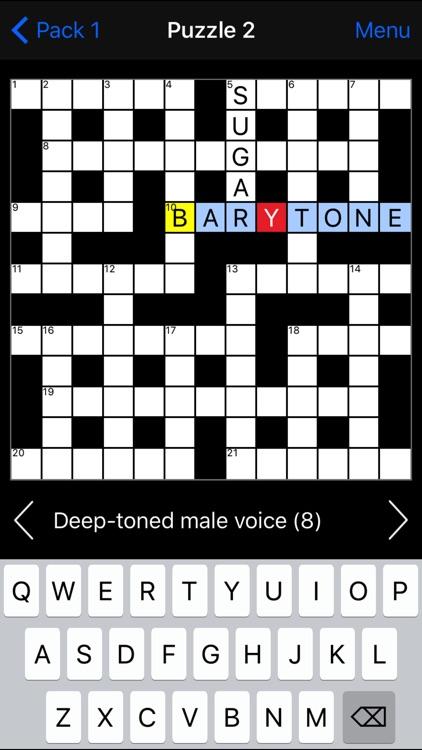 Crossword screenshot-6