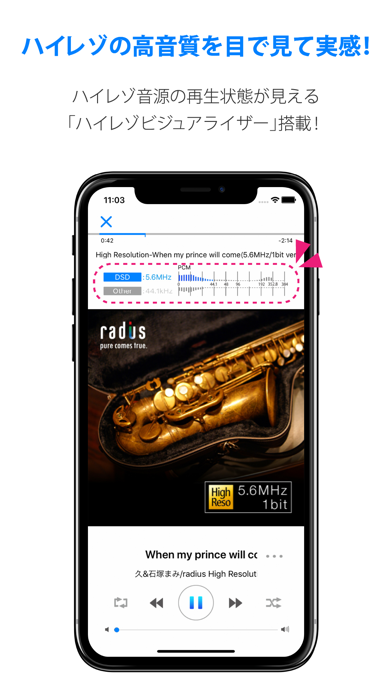 ハイレゾ再生対応 音楽プレイヤーアプリ[NePLAYER]のおすすめ画像4