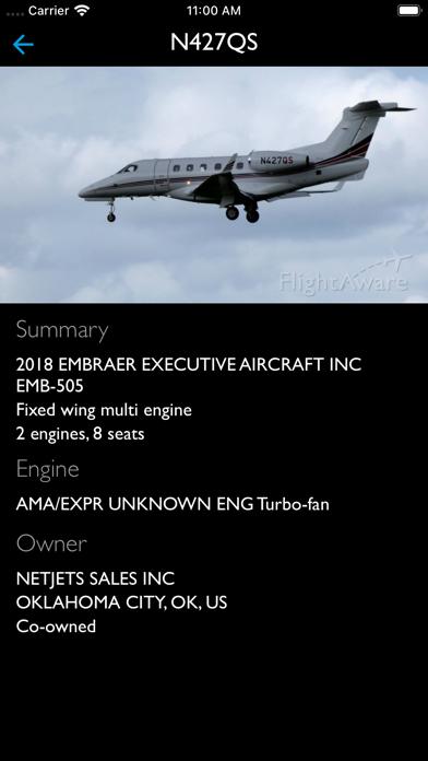 Flightaware Flight Tracker review screenshots