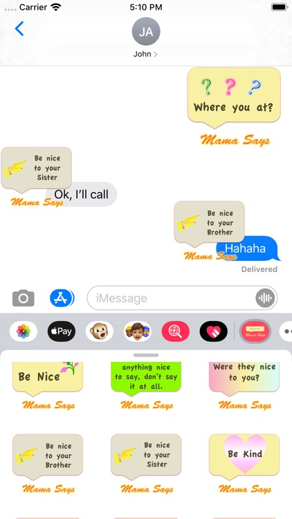 Mama Says screenshot-3