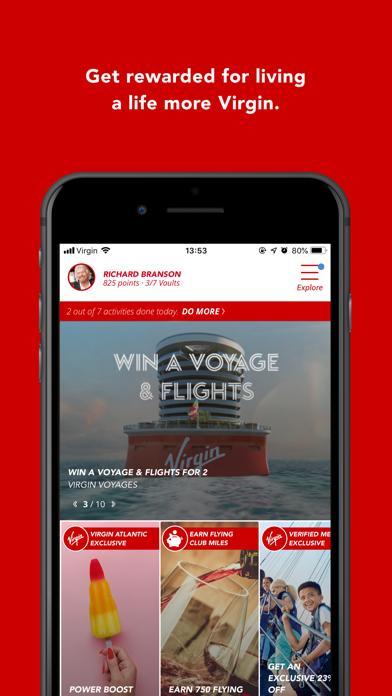 Virgin Red screenshot one