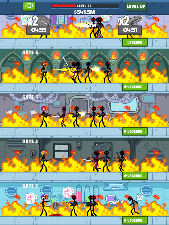 Idle Stickman screenshot 10