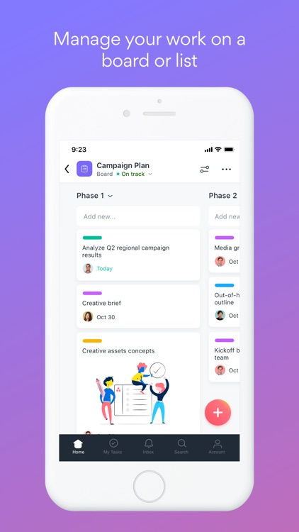 Asana: organize tasks & work screenshot-3