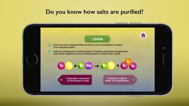 Salts in Chemistry
