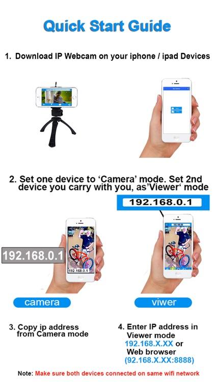 IP Webcam Home Security Camera screenshot-3