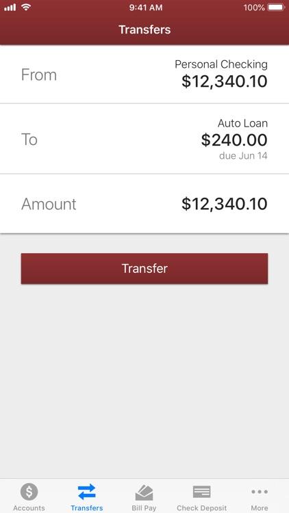 Clinton Bank Mobile screenshot-3