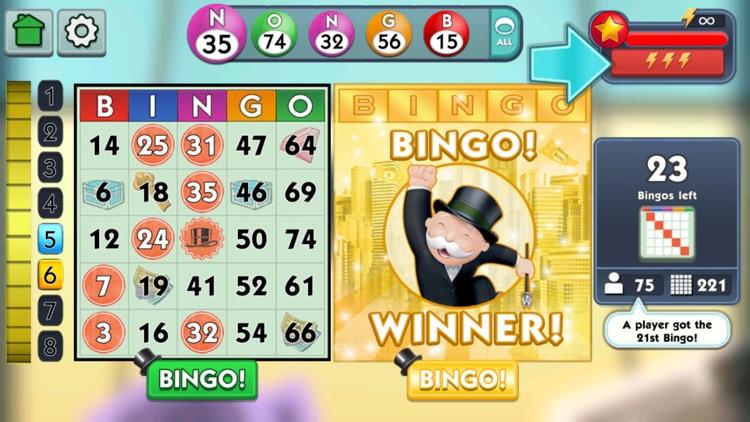 MONOPOLY Bingo! screenshot-0