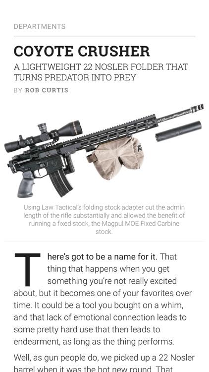 Recoil Magazine screenshot-5
