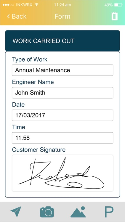 Workstreme Mobile Forms