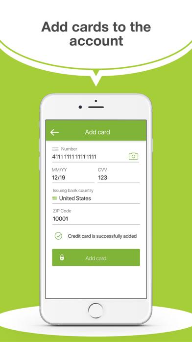 Ulendo Driver app screenshot four