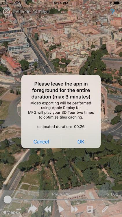 Birdy - Maps Video Recorder screenshot-4