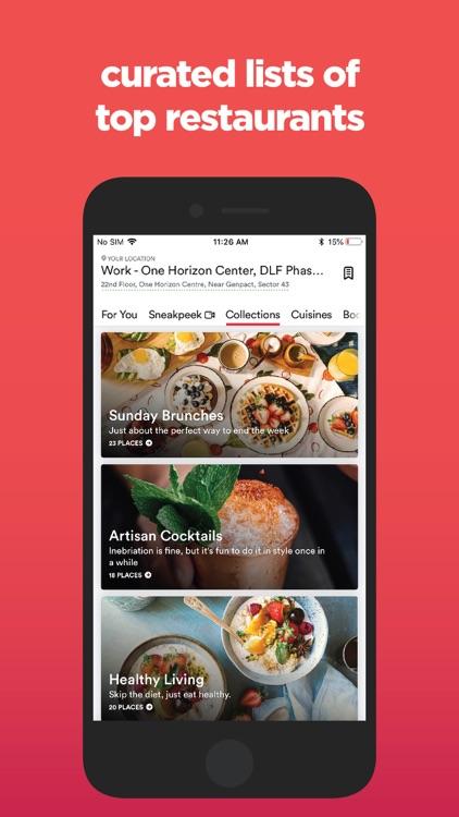 Zomato - Food & Restaurants screenshot-3