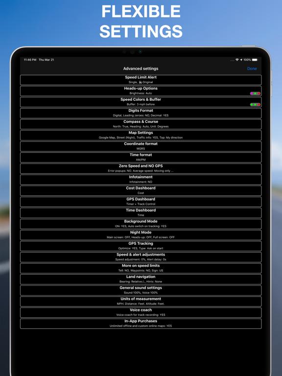 スピードメーター 55 Pro - GPS速度計 ロガー。のおすすめ画像10