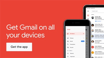 Screenshot for Gmail - Email by Google in Israel App Store