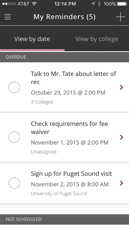 Common App On Track screenshot-4