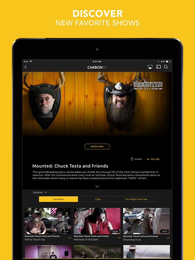 CarbonTV on the App Store