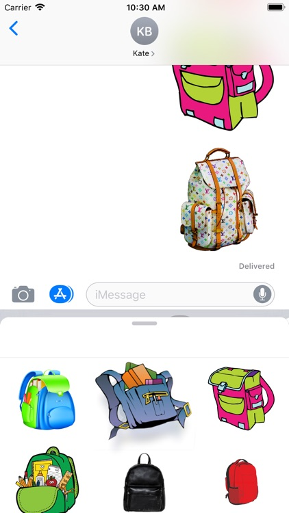 Backpacks Stickers screenshot-3