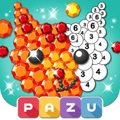 Color by Number for kids, Pazu
